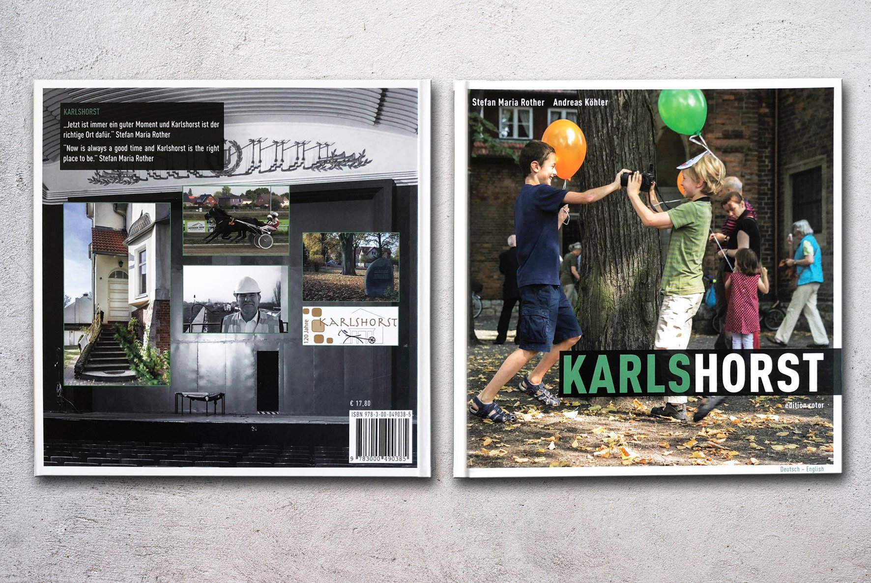 Editorial Design Fotobuch